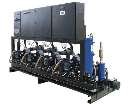 FAWAZ Emerson Multi Compressor Rack UAE