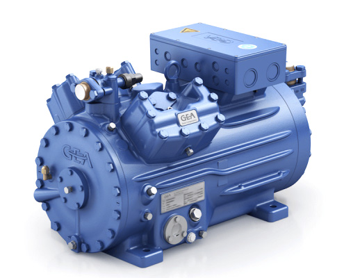 FAWAZ GEA BOCK Semi Hermetic Compressor UAE