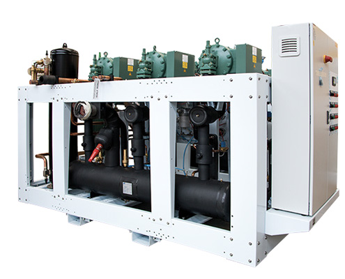 FAWAZ Zanotti Refrigeration Multi Compressor Rack UAE