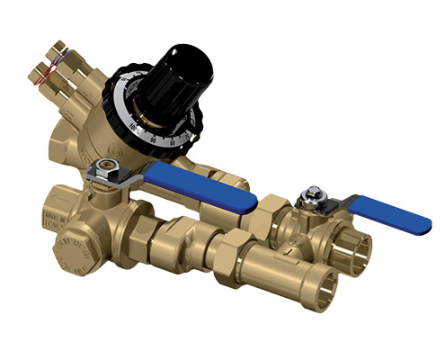 FAWAZ Johnson Controls FCU valve package HVAC UAE